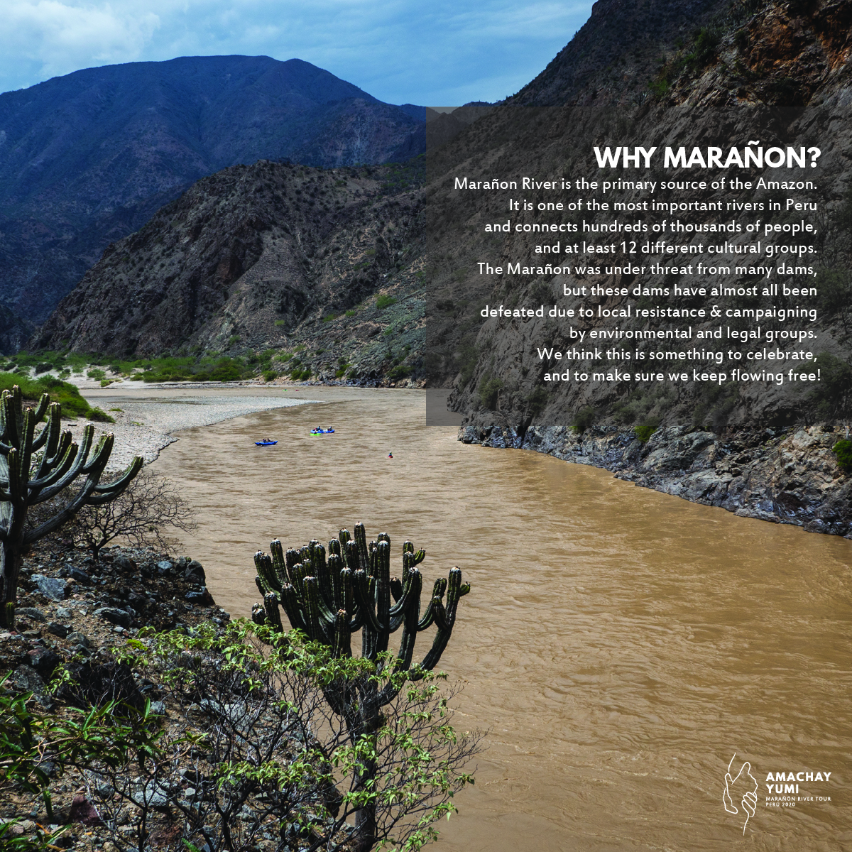 2020 Marañon River Tour Cancelled