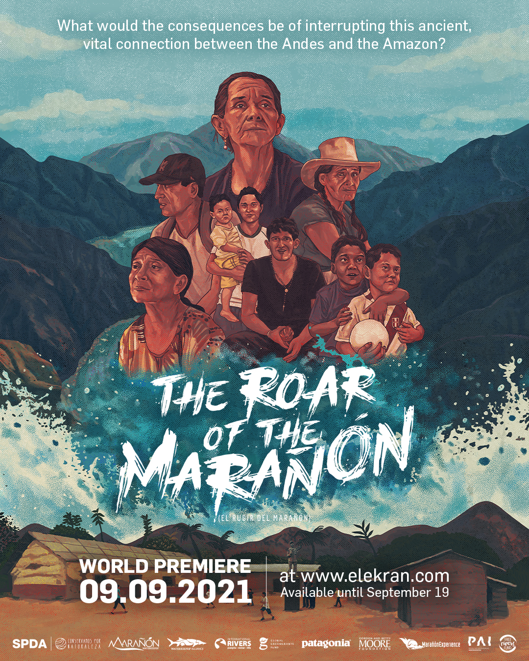 World Premiere 'The Roar of the Marañón' and Motion 013 accepted at IUCN World Conservation Conference